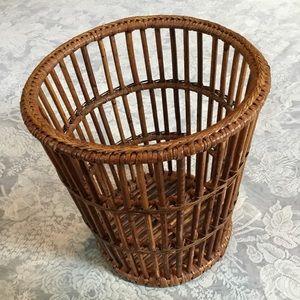 Vintage Boho | Rattan Waste Basket